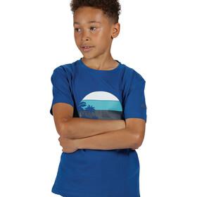 Regatta Bosley III Camiseta Niños, nautical blue